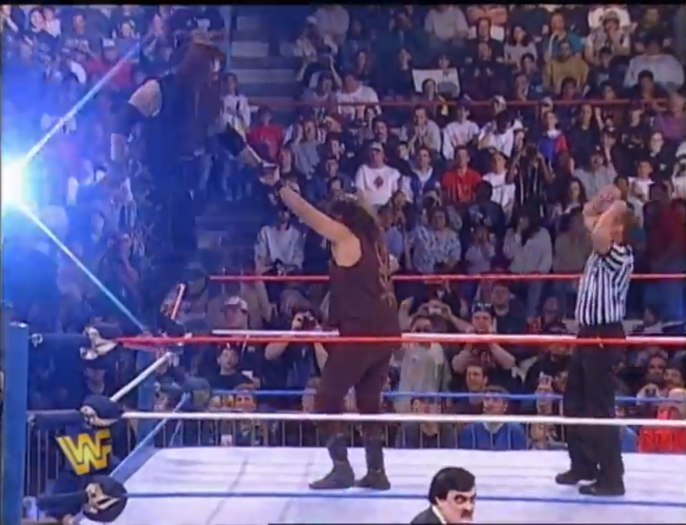 The Undertaker vs. Mankind WWF In Your House 14: Revenge Of The 'Taker, WWF World Heavyweight Championship Apr 20th 1997
