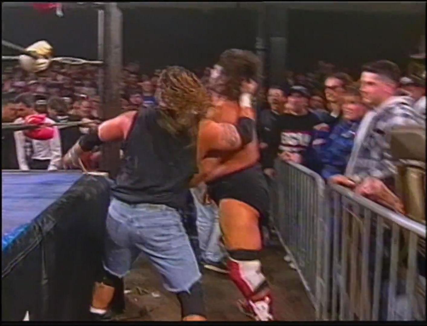 Raven vs. Dr. Death Steve Williams ECW World Heavyweight Championship ECW Hardcore TV, Feb 4th 1997