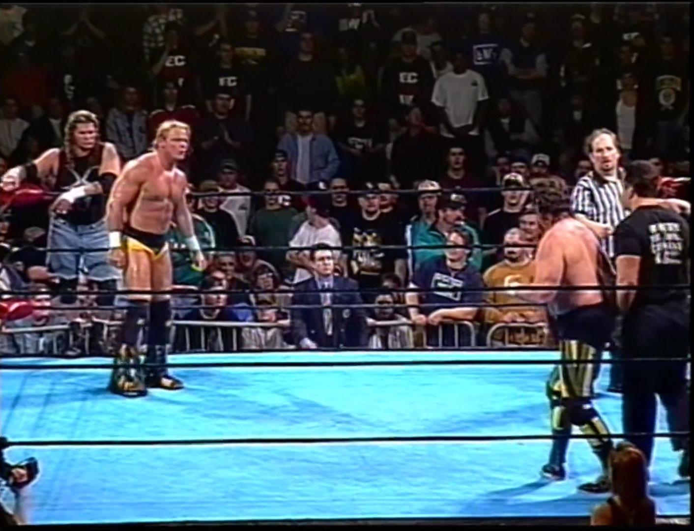 Raven & Shane Douglas vs. Tommy Dreamer & Terry Funk ECW Hardcore TV April 1st 1997