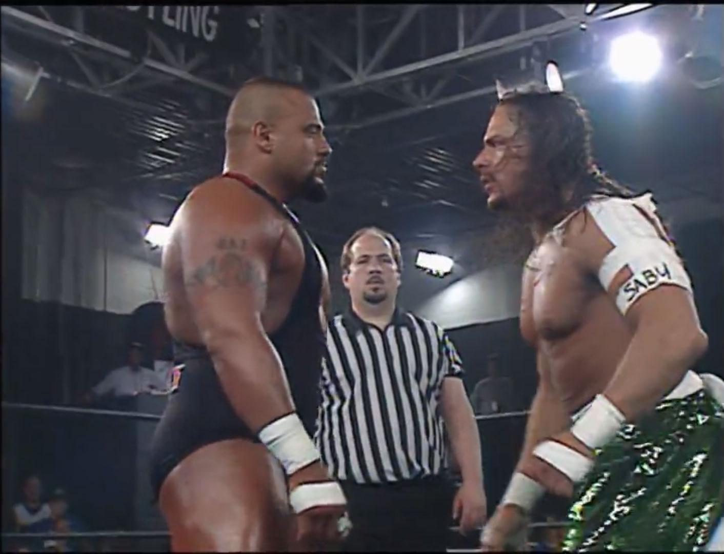 Taz vs. Sabu ECW Barely Legal April 13th 1997