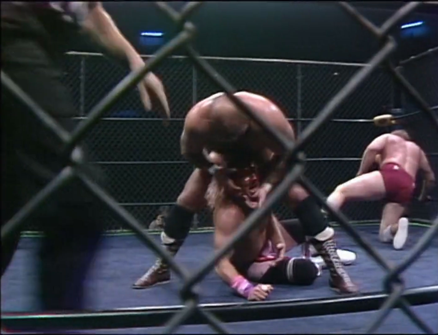 The Anderson's vs. Rock 'n' Roll Express Steel Cage, NWA Tag Team Championship Starrcade '86, Nov 27th 1986