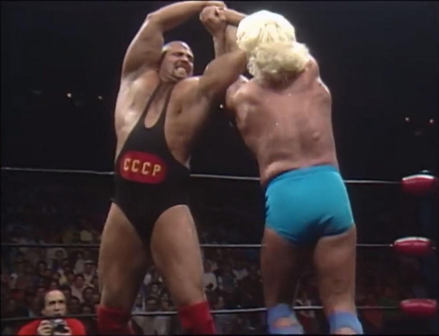 Ric Flair vs. Nikita Koloff NWA World Heavyweight Championship Starrcade '86, Nov 27th 1986