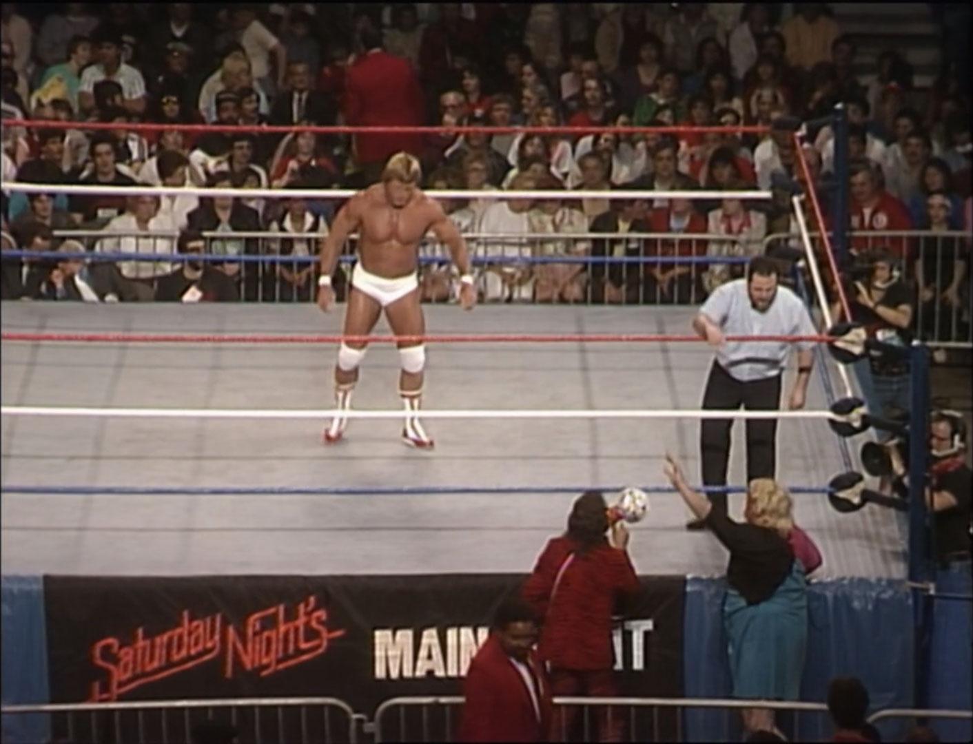 Adrian Adonis vs. Paul Orndorff WWF Saturday Night's Main Event May 3rd 1986