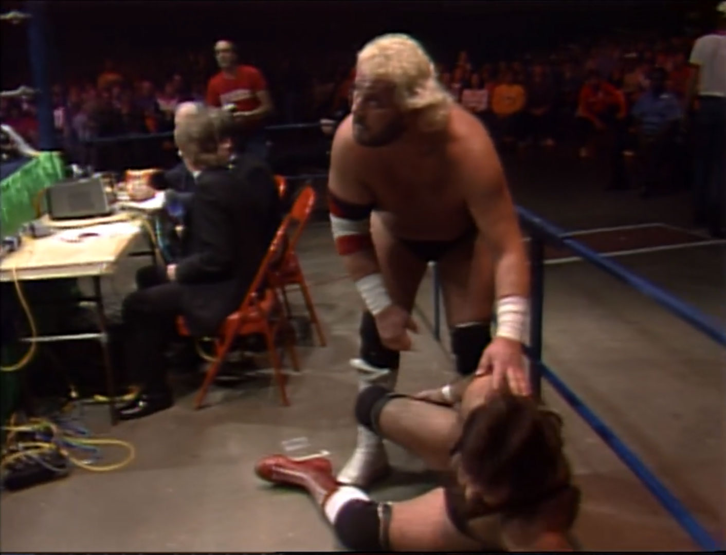 The Kansas Jayhawks vs. The Russians NWA United States Tag Team Championship NWA Starrcade 86, Nov 27th 1986