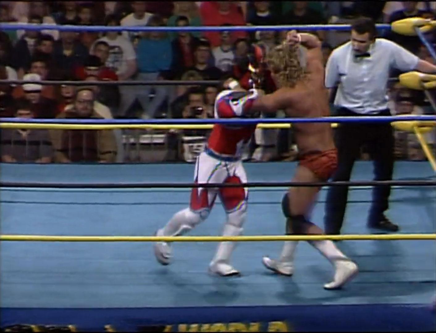 Brian Pillman vs. Jushin Liger WCW Light Heavyweight Championship WCW SuperBrawl II, Feb 29th 1992
