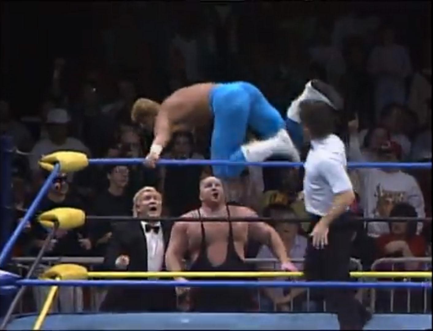 Sting vs. Big Van Vader WCW StarrCade '92 Dec 28th 1992