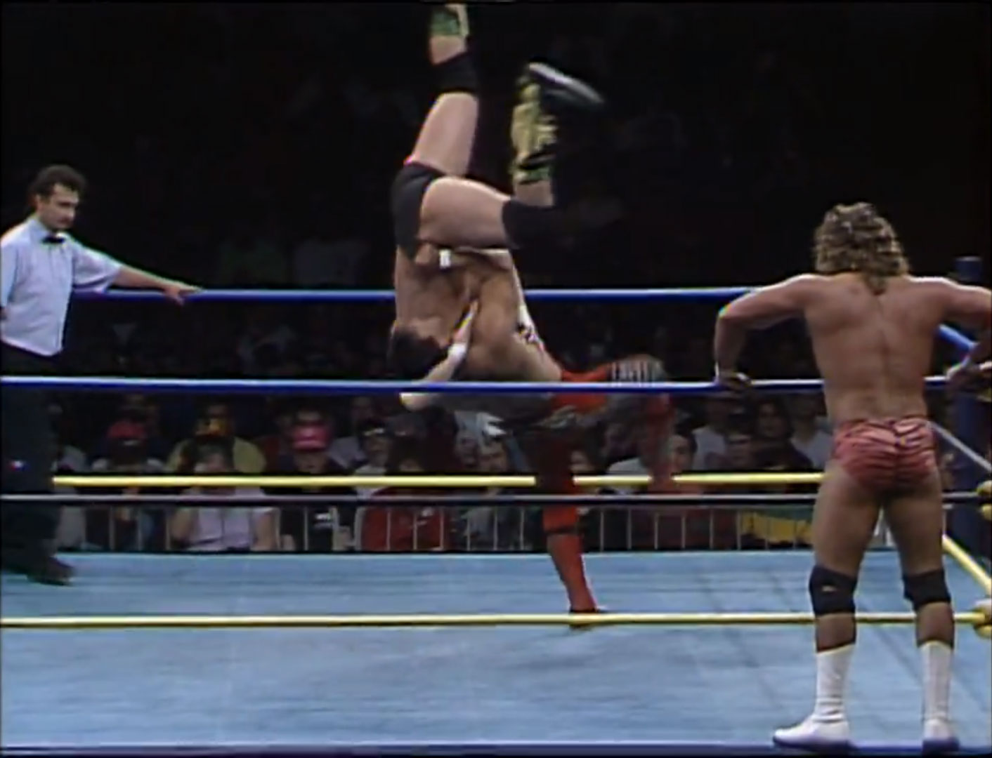 Ricky Steamboat & Shane Douglas vs. Barry Windham & Brian Pillman NWA Tag Team Titles, WCW World Tag Team Titles WCW StarrCade '92, Dec 28th 1992