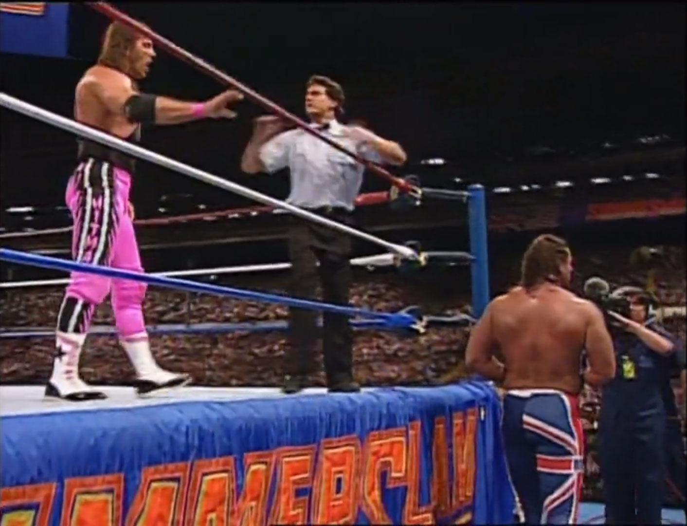 Bret Hart vs. British Bulldog WWF Intercontinental Championship WWF SummerSlam '92, Aug 29th 1992