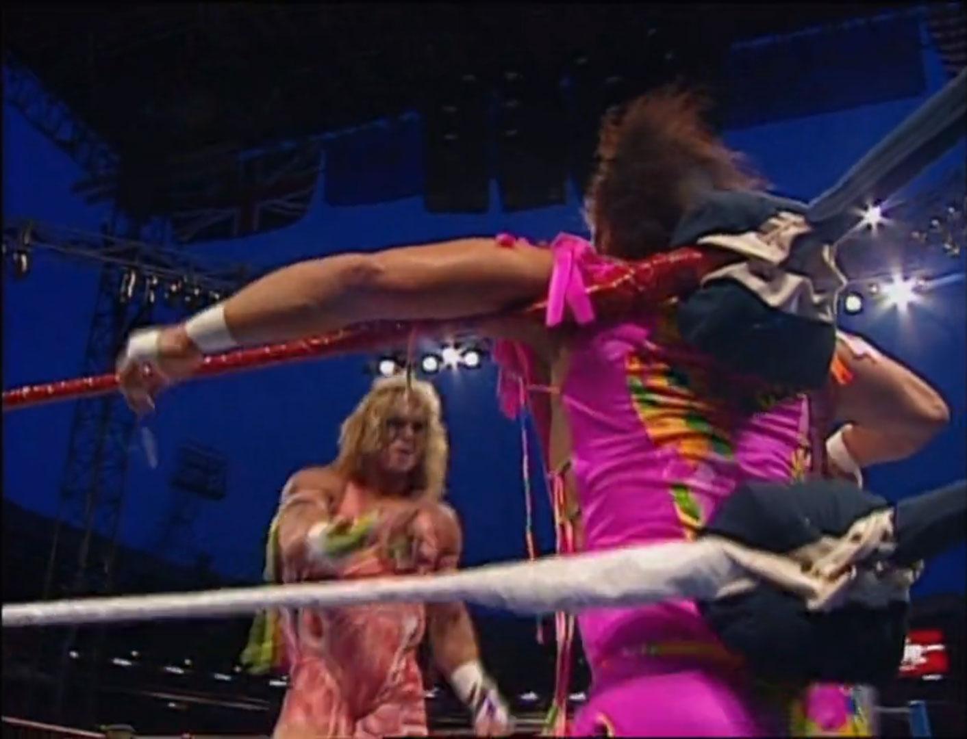 The Ultimate Warrior vs. Randy Savage WWF World Heavyweight Championship WWF SummerSlam '92, Aug 29th 1992