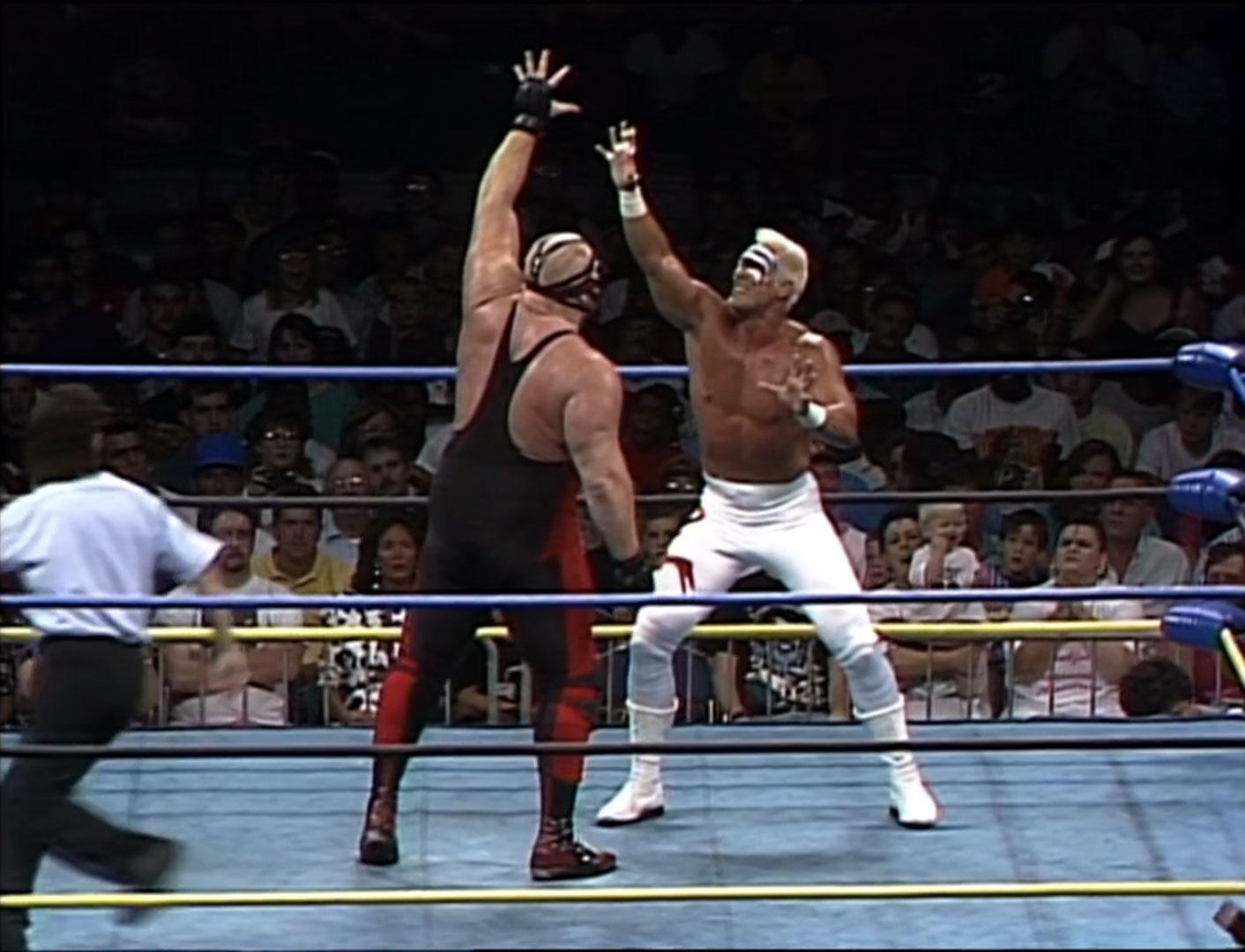 Sting vs. Big Van Vader WCW World Heavyweight Championship WCW Great American Bash '92, Jul 12th 1992