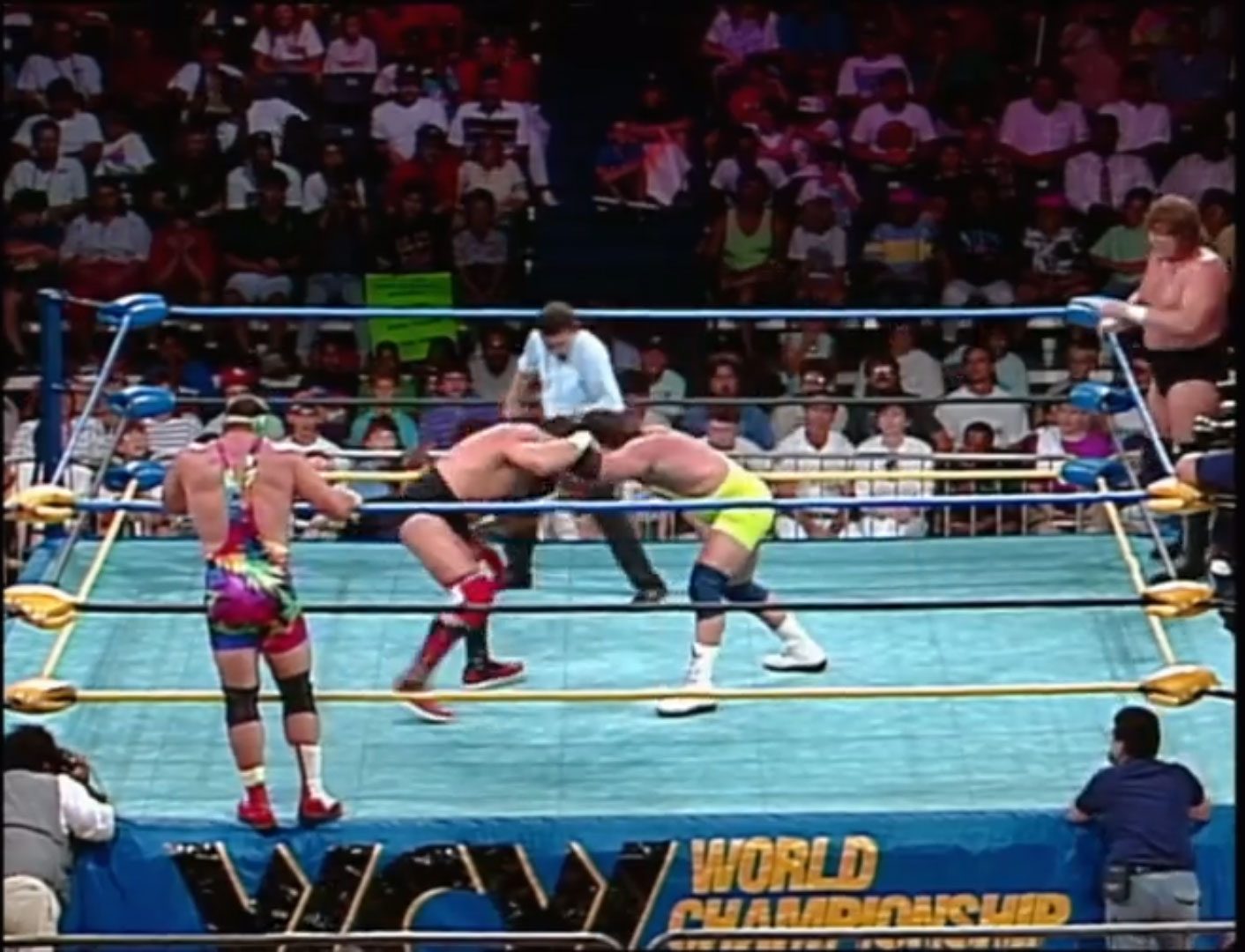 Steve Williams & Terry Gordy vs. The Steiner Brothers Clash of the Champions XIX: NWA World Tag Team Title Tournament Jun 16th 1992