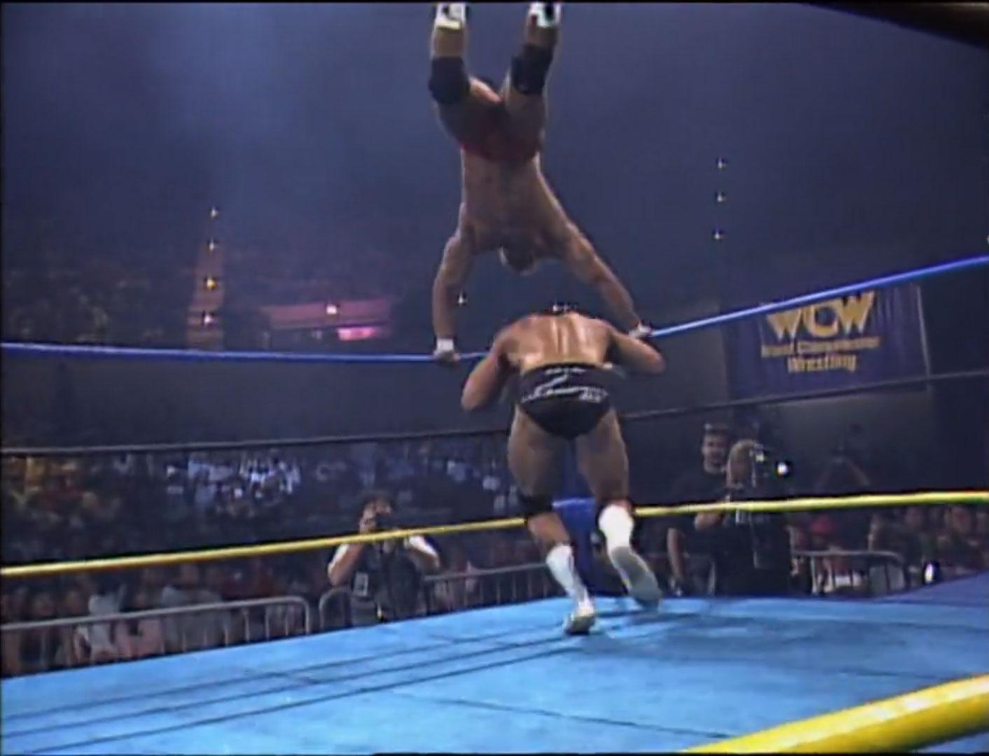 Brian Pillman vs. Tom Zenk WCW Light Heavyweight Championship WCW WrestleWar '92, May 17th 1992