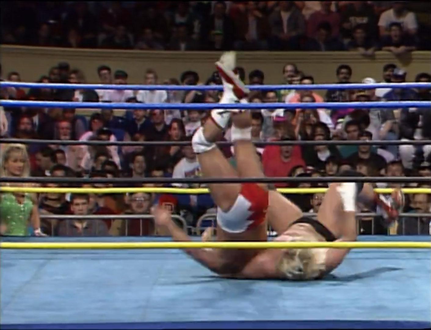 Barry Windham, Dustin Rhodes vs. Larry Zbyszko, Steve Austin WCW SuperBrawl II Feb 29th 1992