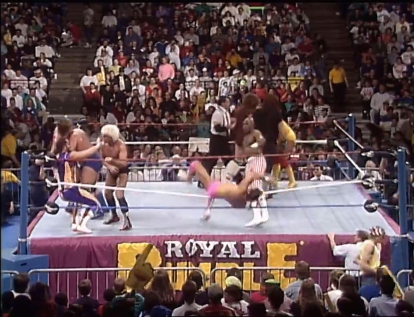 30-Man Royal Rumble WWF World Heavyweight Championship WWF Royal Rumble '92, Jan 19th 1992
