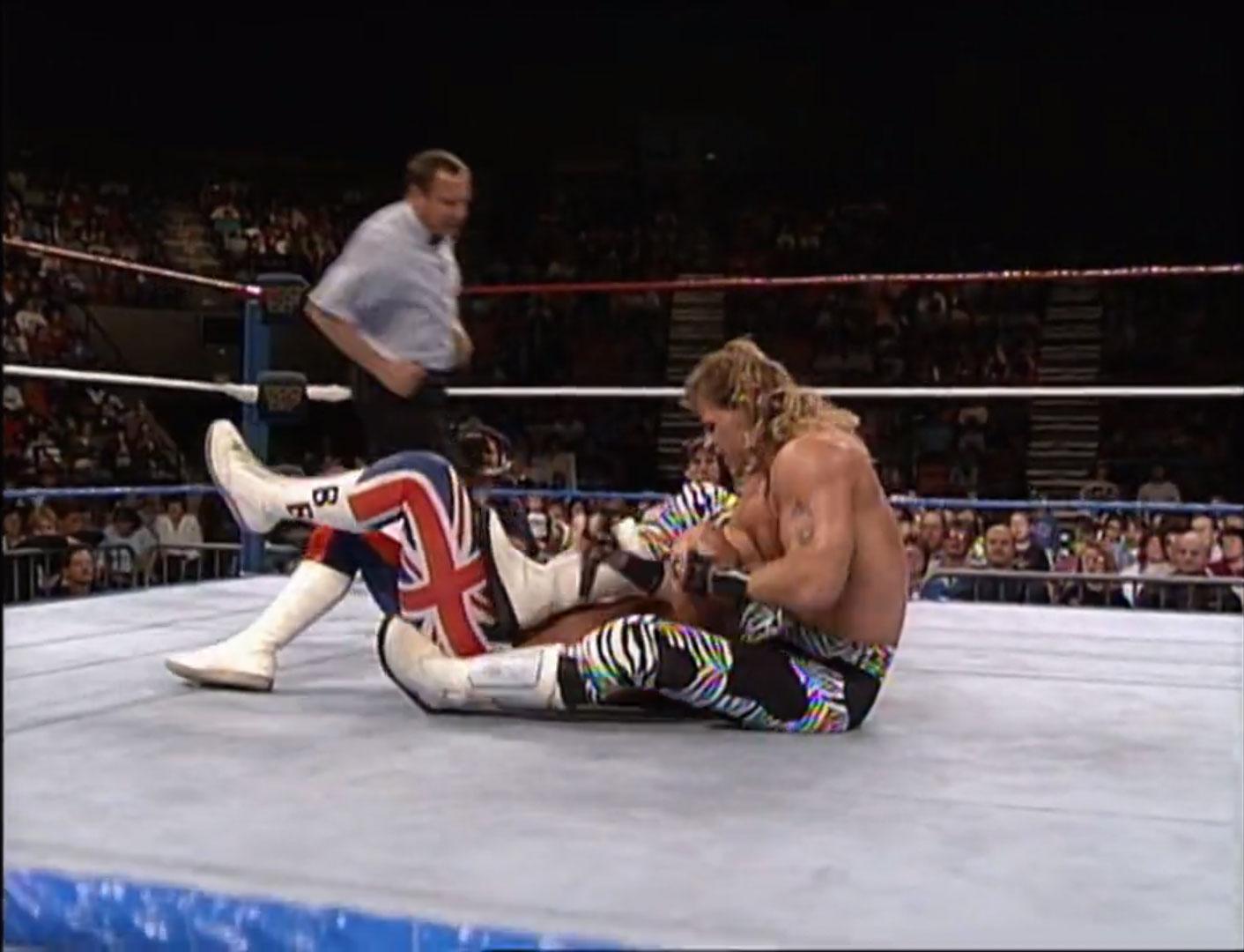 Shawn Michaels vs. The British Bulldog WWF Intercontinental Championship WWF Saturday Night's Main Event, Nov 14th 1992