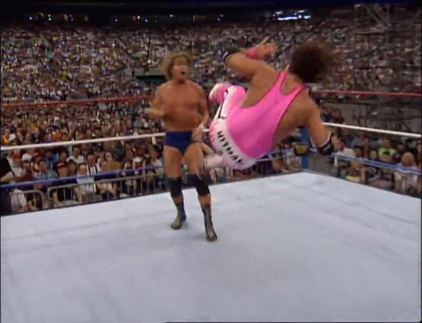 Bret Hart vs. Roddy Piper WWF Intercontinental Championship WWF WrestleMania VIII, Apr 5th 1992