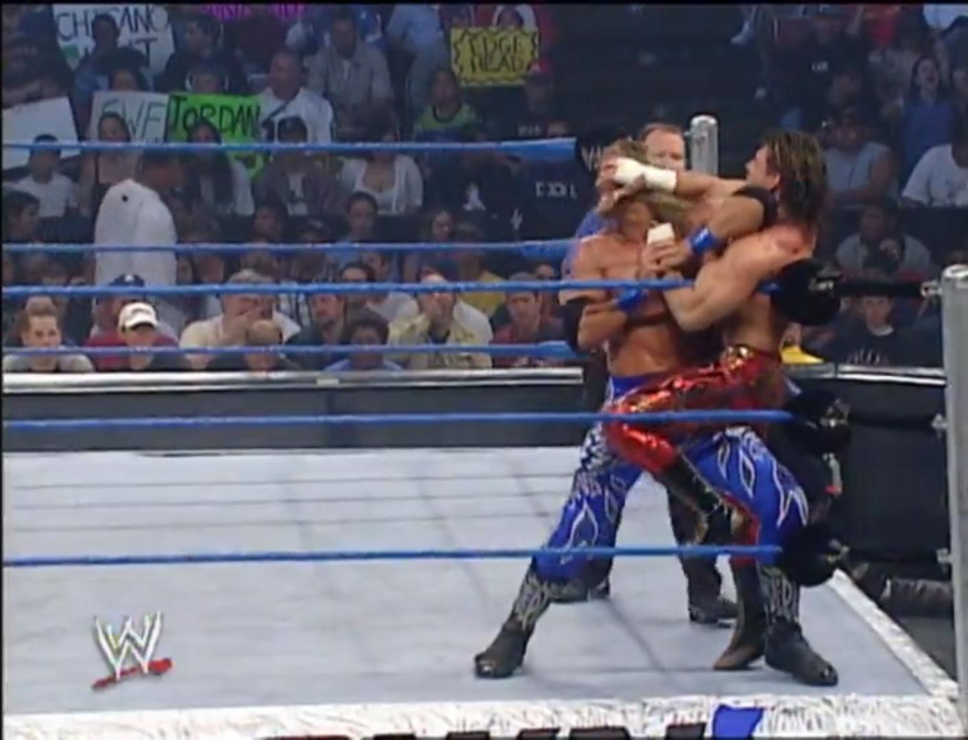 Edge vs. Eddie Guerrero No Disqualification WWE Smackdown, September 26th 2002