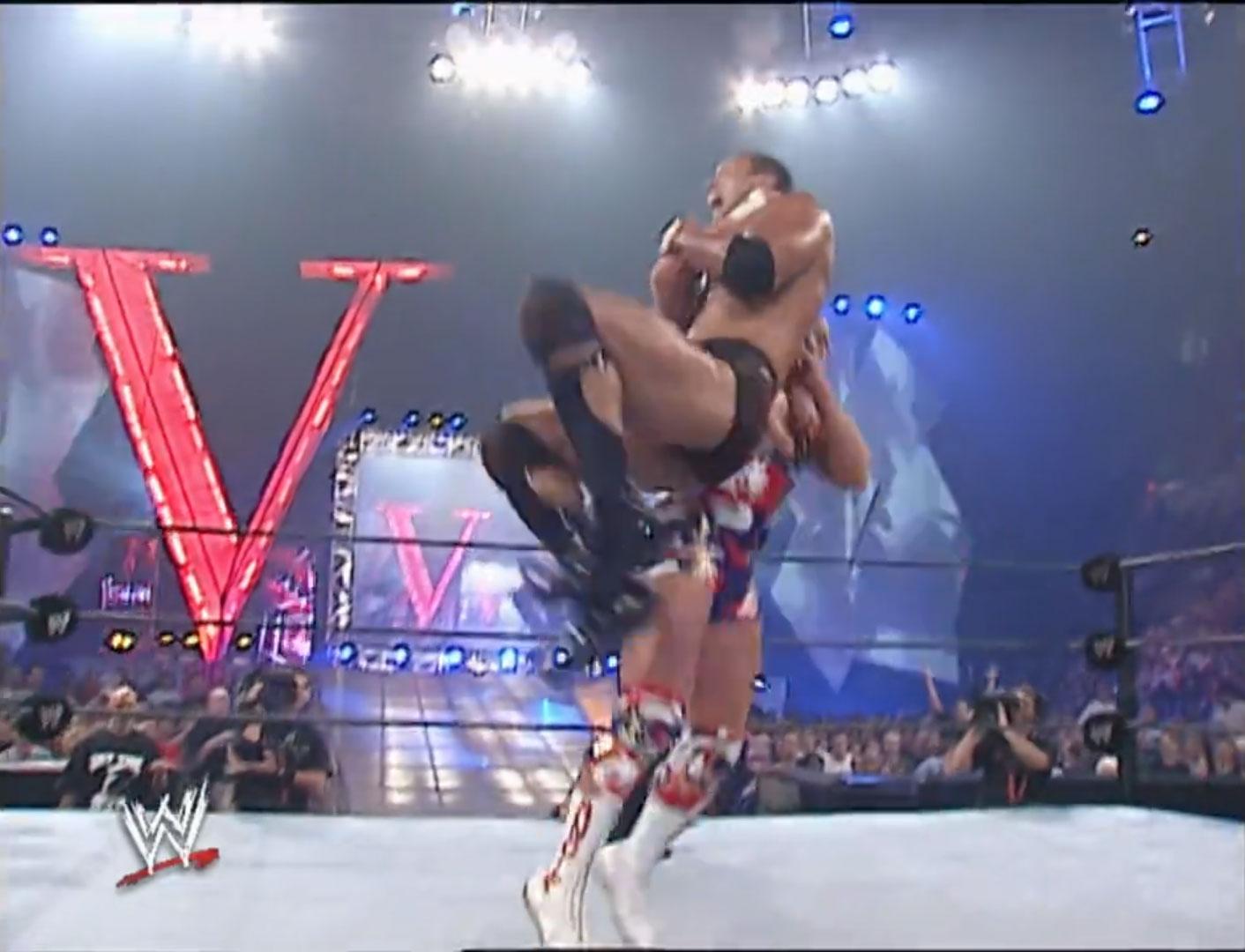 The Rock vs. Kurt Angle vs. The Undertaker Triple-Threat Match, WWE Undisputed Championship WWE Vengeance '02, Jul 21st 2002