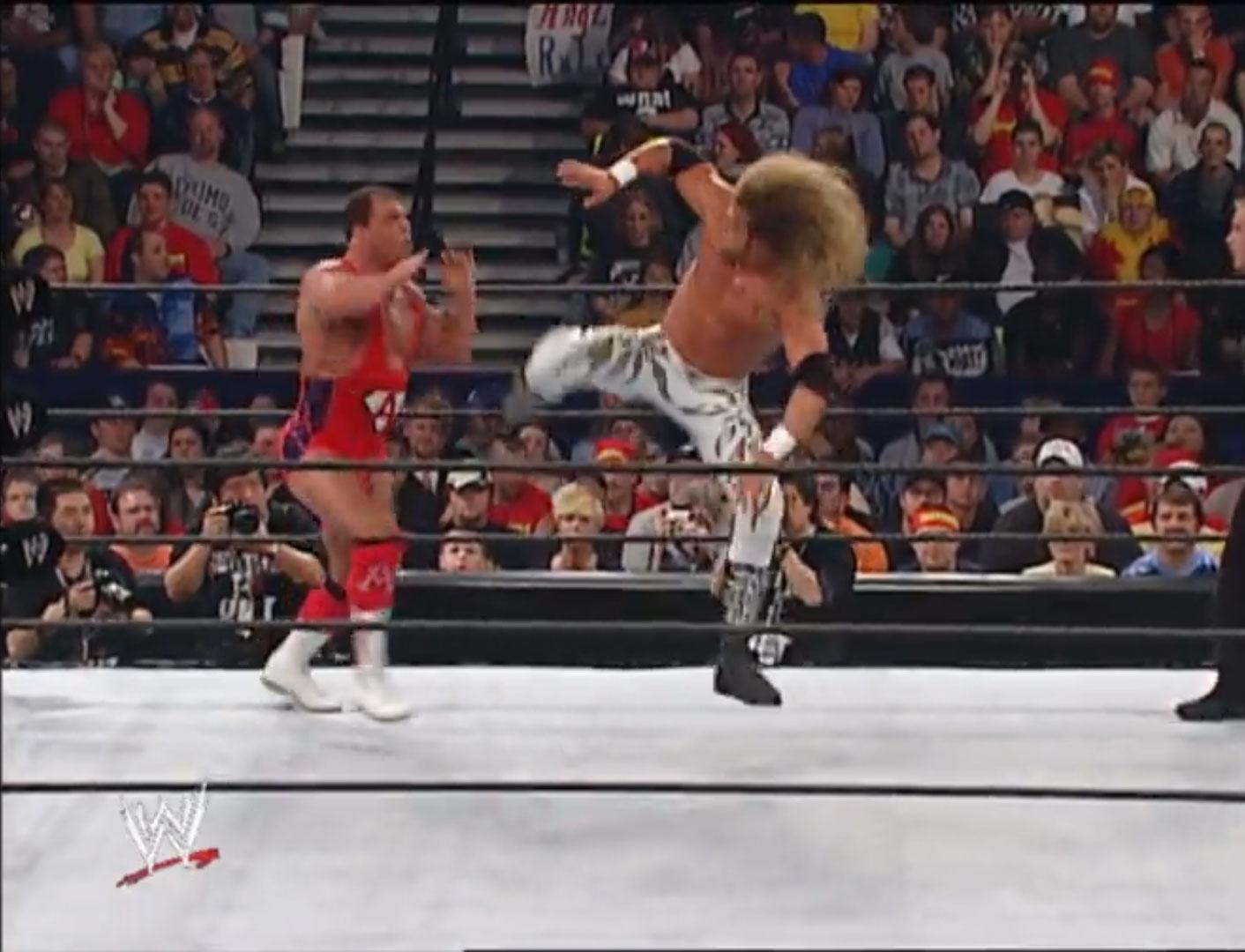 Edge vs. Kurt Angle Hair Vs. Hair WWE Judgment Day '02, May 19th 2002