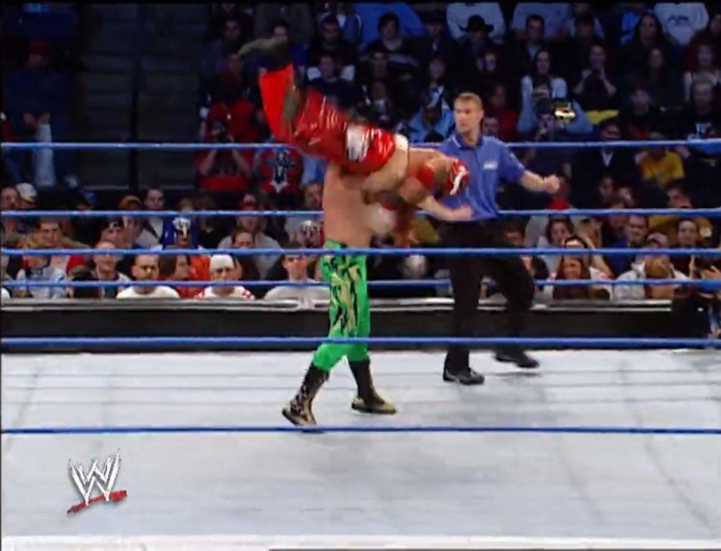 Eddie Guerrero vs. Rey Mysterio WWE Smackdown November 14th 2002