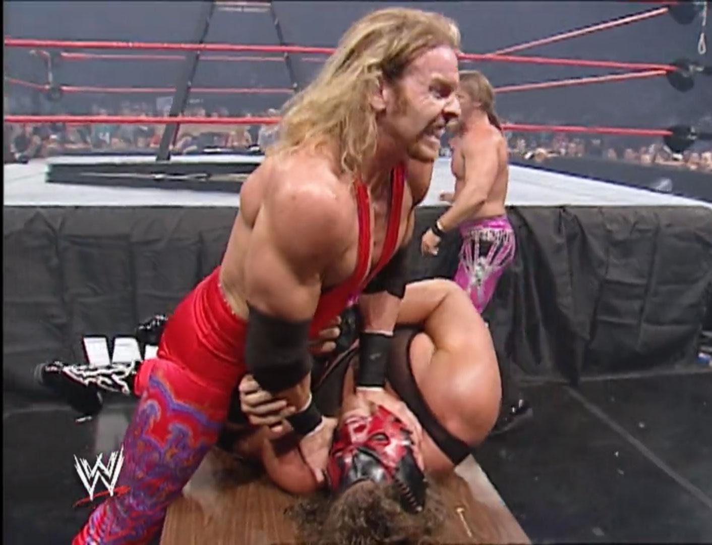 Four-Way Tag Team, TLC Match WWE World Tag Team Championship WWE Monday Night Raw, Oct 7th 2002