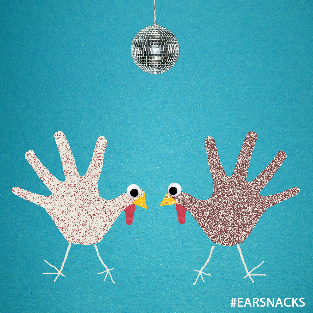 WATCH OUT - For turkeys on the dance floor.
