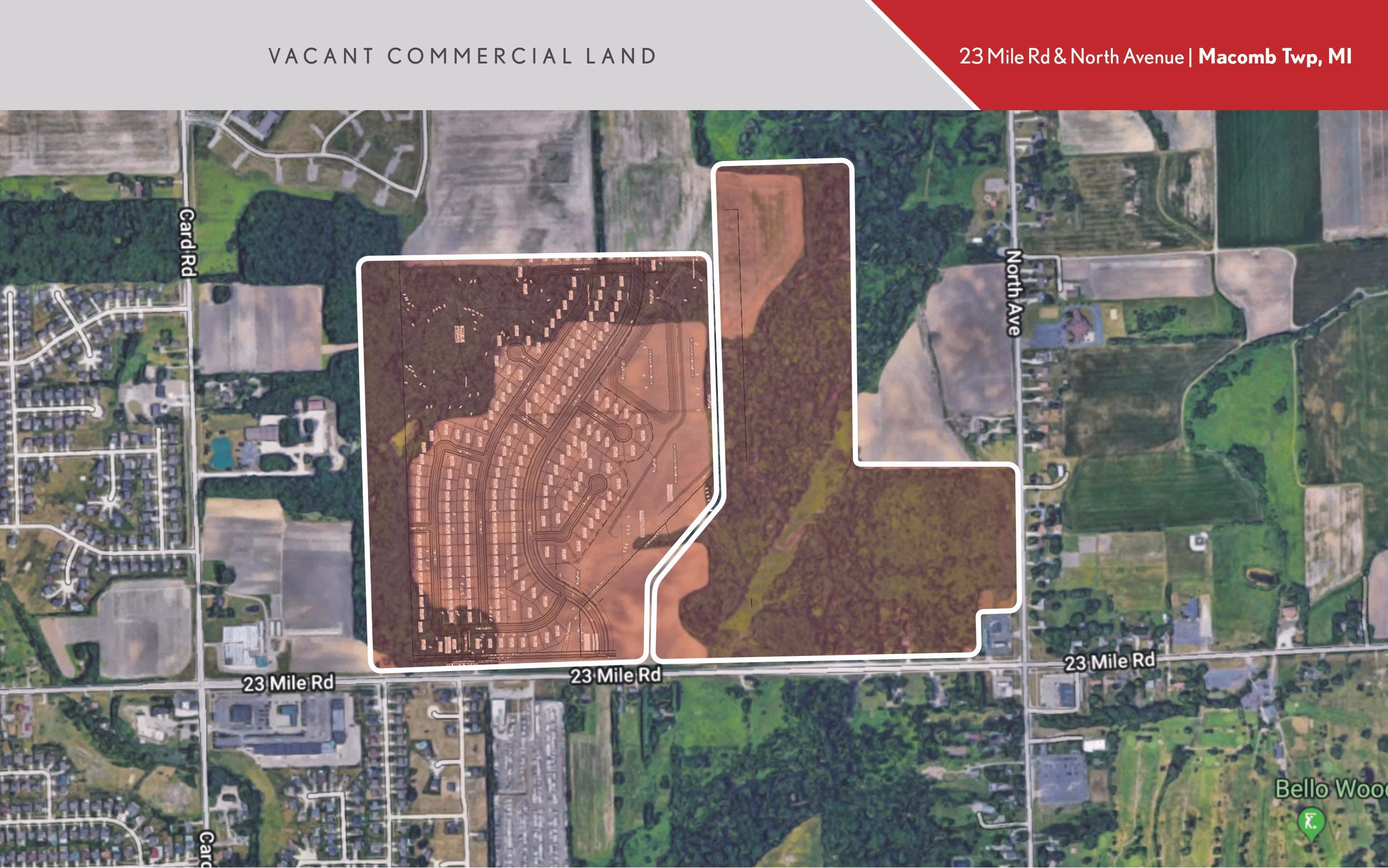 Copy of Vacant Commercial Land | Macomb Twp, MI