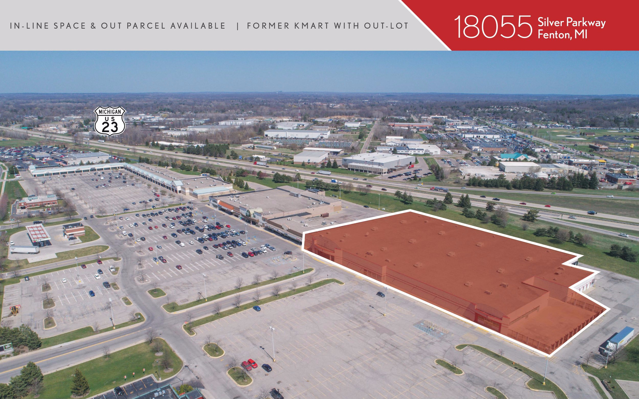 87,000 SF redevelopment slated for completion Summer 2019. Tenants include TJ Maxx, Michaels, Five Below, and Sketchers