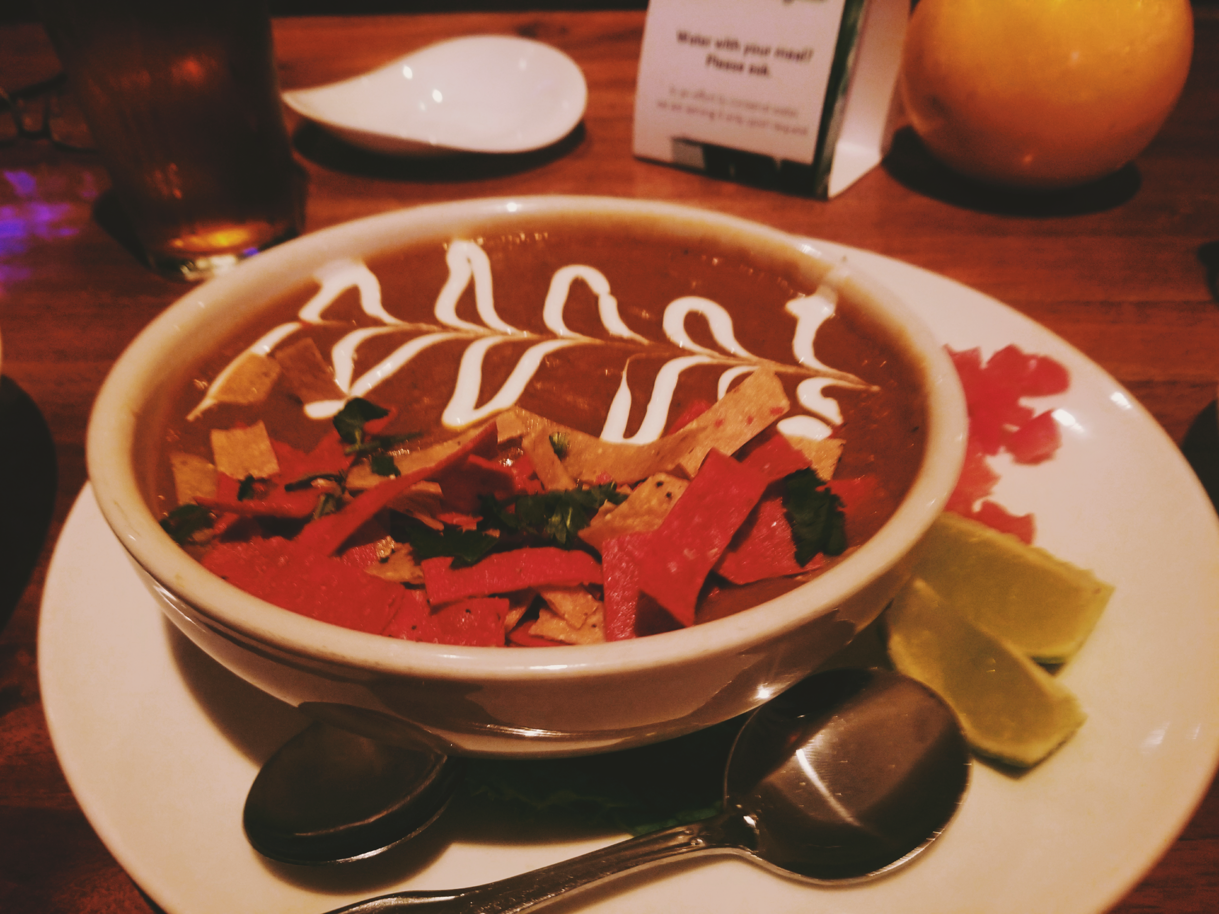 The Sopa Azteca, recommended to us by our Airbnb hosts, and my favorite part of the meal