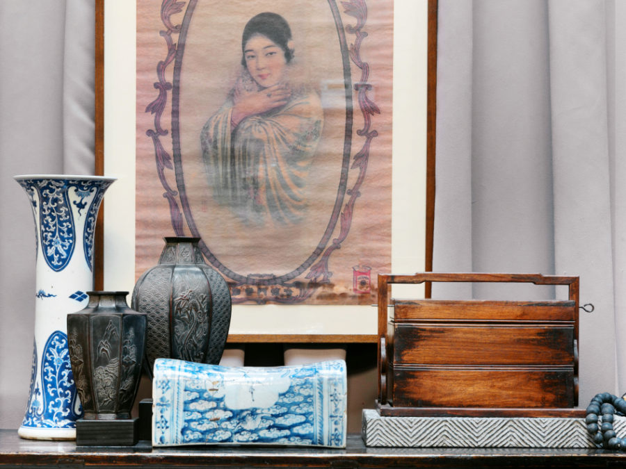 Pagoda Red's Expanding Collection of Asian Antiques Brings Home a Lifetime of Stories -