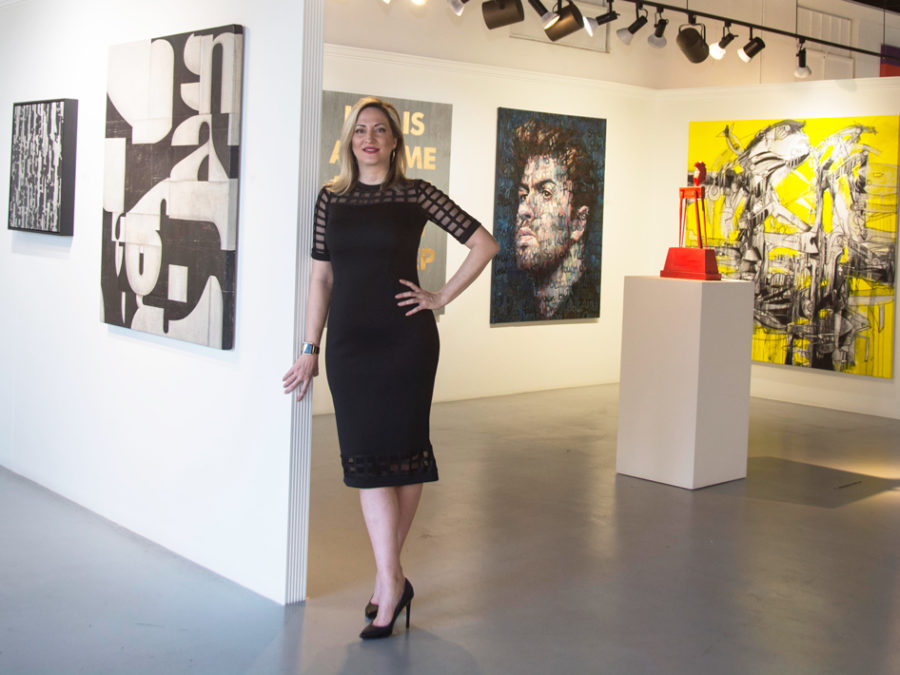 How this West Palm Beach Gallerist Discovers Impactful Contemporary Art -