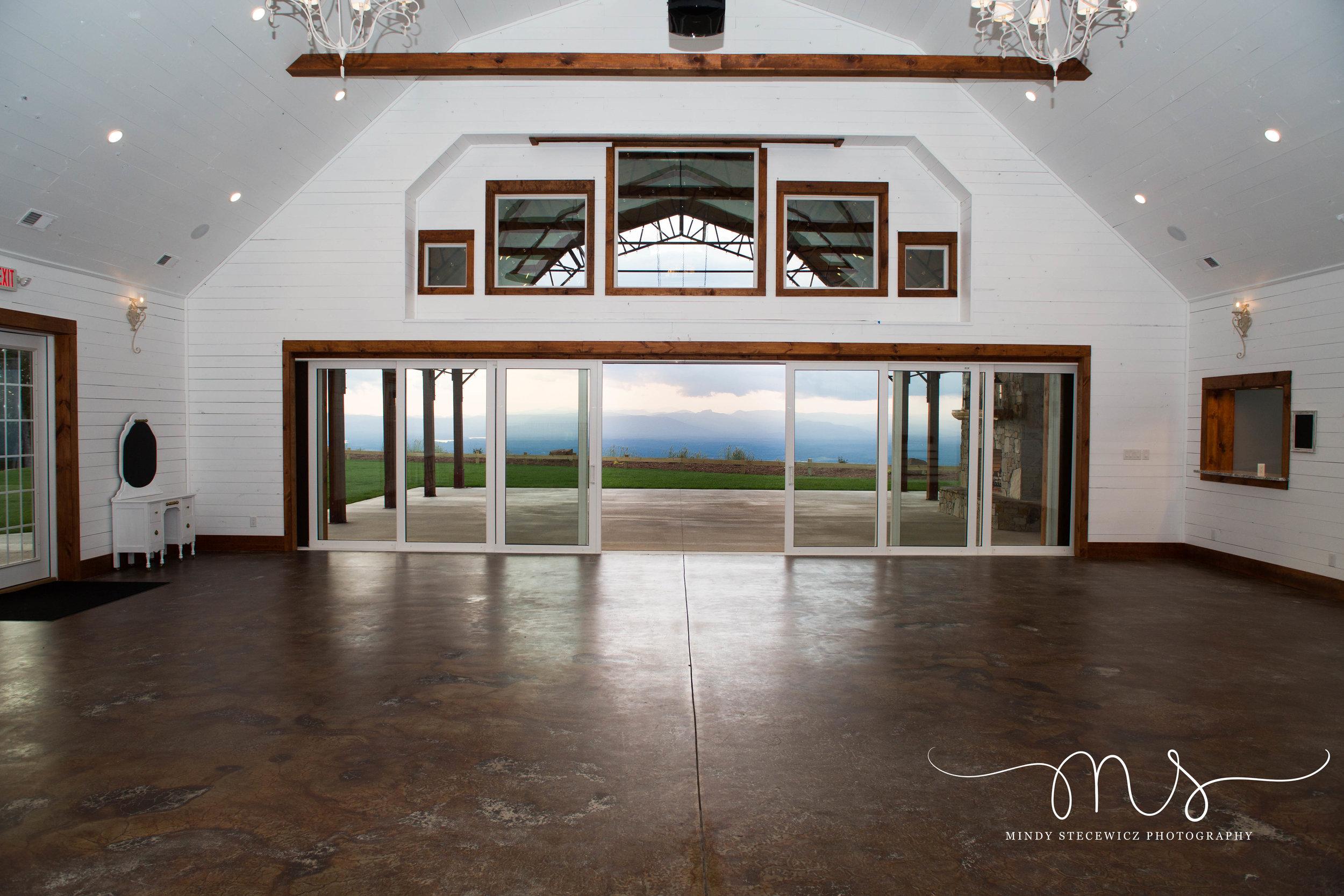 Main Banquet Room at Hidden Hill Venue.