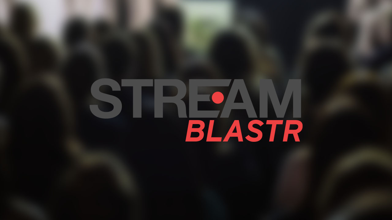 Multichannel Live Streaming - Stream Blastr service allows your public facing event to be seen on many live media platforms at the same time. Get maximum exposure by live streaming to Facebook Live, YouTube, Periscope.,Twitch.tv, Livestream Global One player, Brightcove, and more!