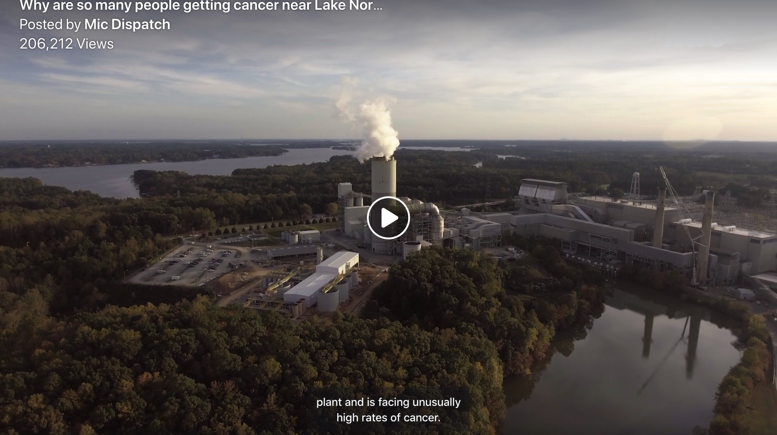 An investigation into the effects of coal ash on North Carolina communities, in the wake of recent deregulation.