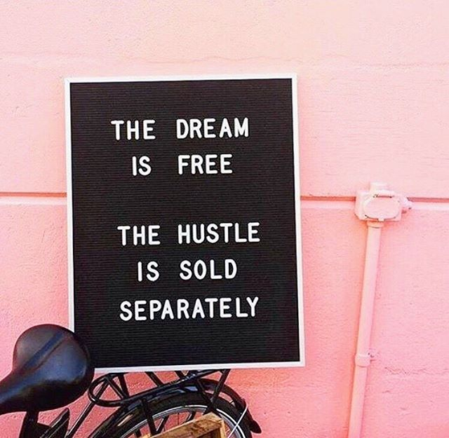 CAN'T STOP, WON'T STOP. While I believe balance needs to be incorporated into the hustle, the reality is that nobody is going to make your dreams come true except for YOU. What steps are you taking TODAY to make shit happen?! Happy Wednesday, now let's hustle 👊🏽. 📸: @theprettyprojectworkshop - #soloproneur #smallbusiness #virtualassistant #smallbusinesslove #socialmediamanager #creativepreneur #girlboss #beyourownboss #insta180 #ebook #savvybusinessowner #digitalmarketing #designyourlife #VA #virtualservices #risingtidesociety  #entrepreneur #growingbiz #humpday #hustle #thehustle #goalsetting