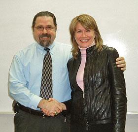 Cal Banyan and Celeste Hackett