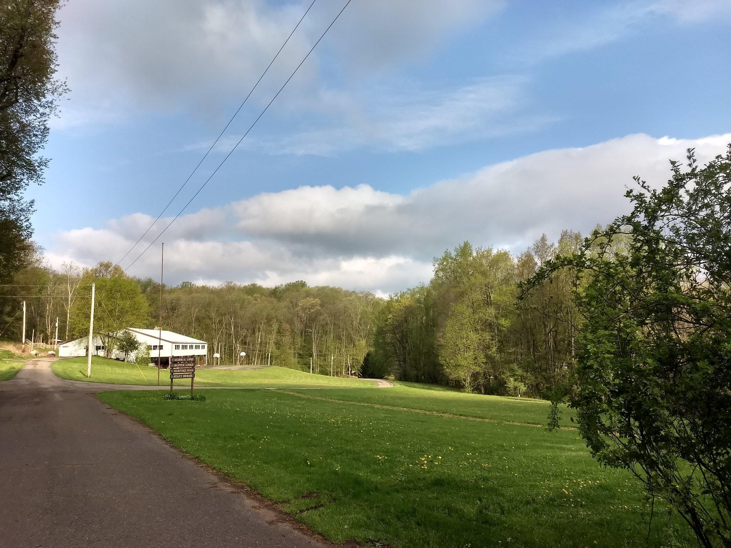 View to Skipper Lodge