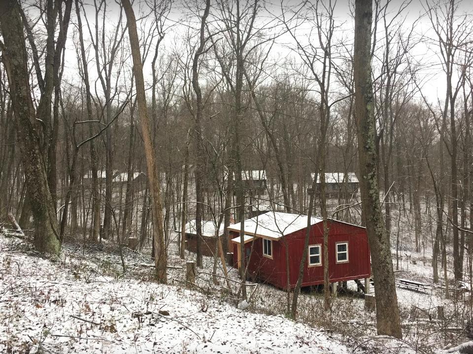 Parker Ridge Cabins - Background