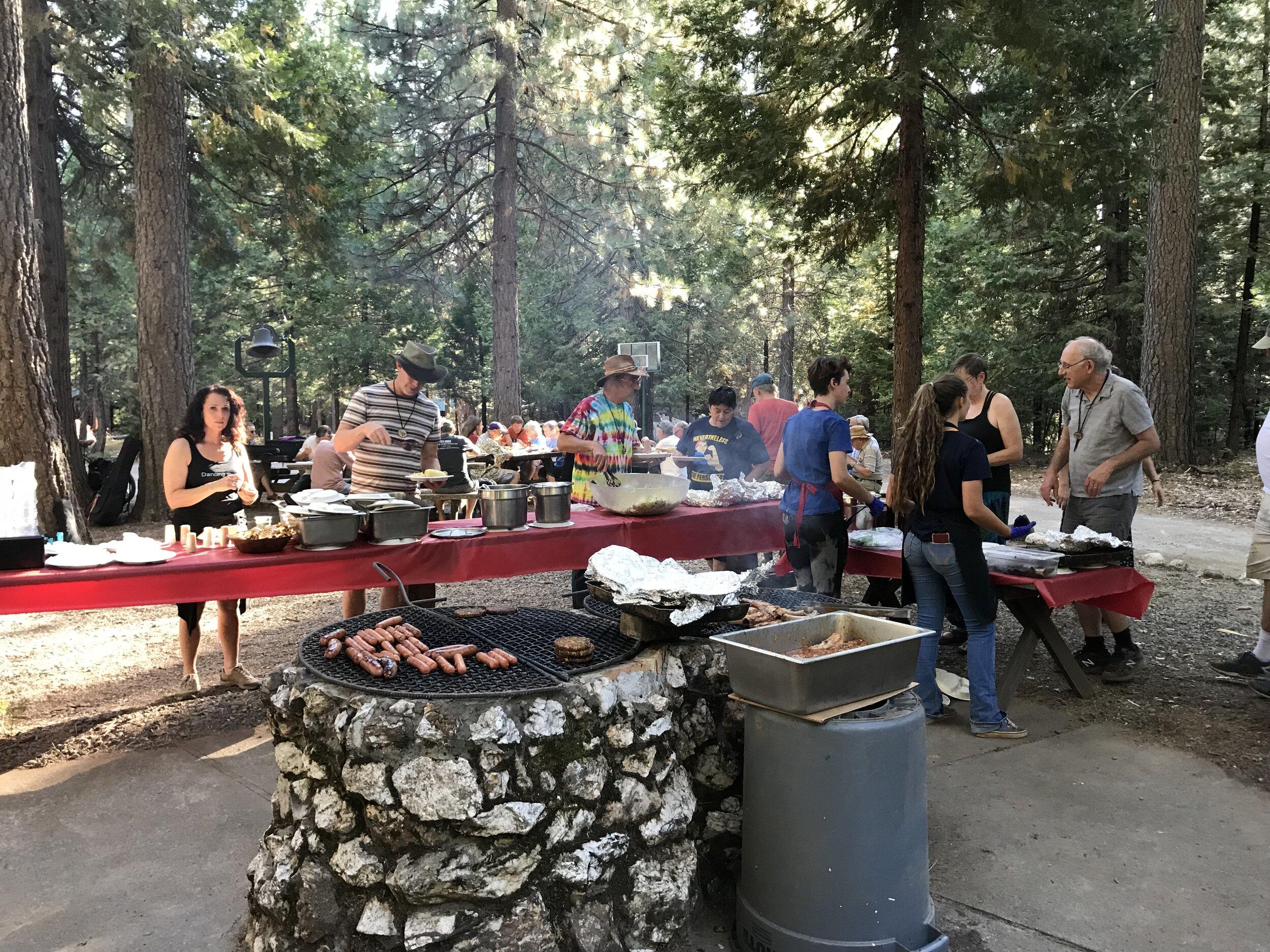BBQ at Bobbitt Area