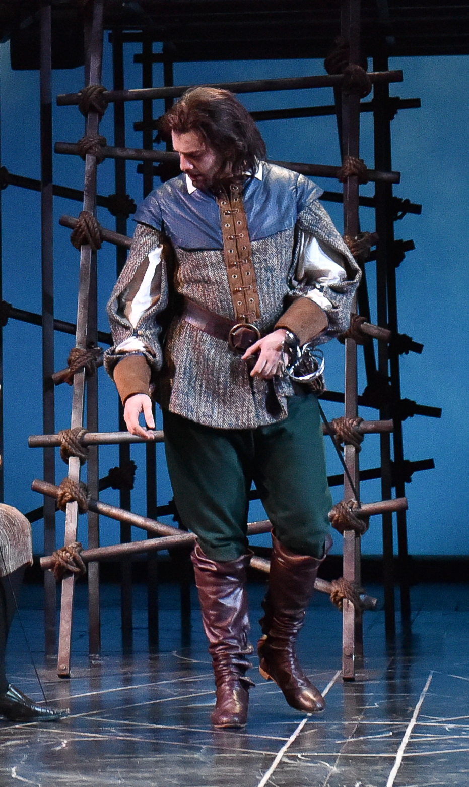Draper  Athos Doublet   The Three Musketeers    Designer - Marla Parker  Carnegie Mellon University  Photo Credit:  Louis Stein