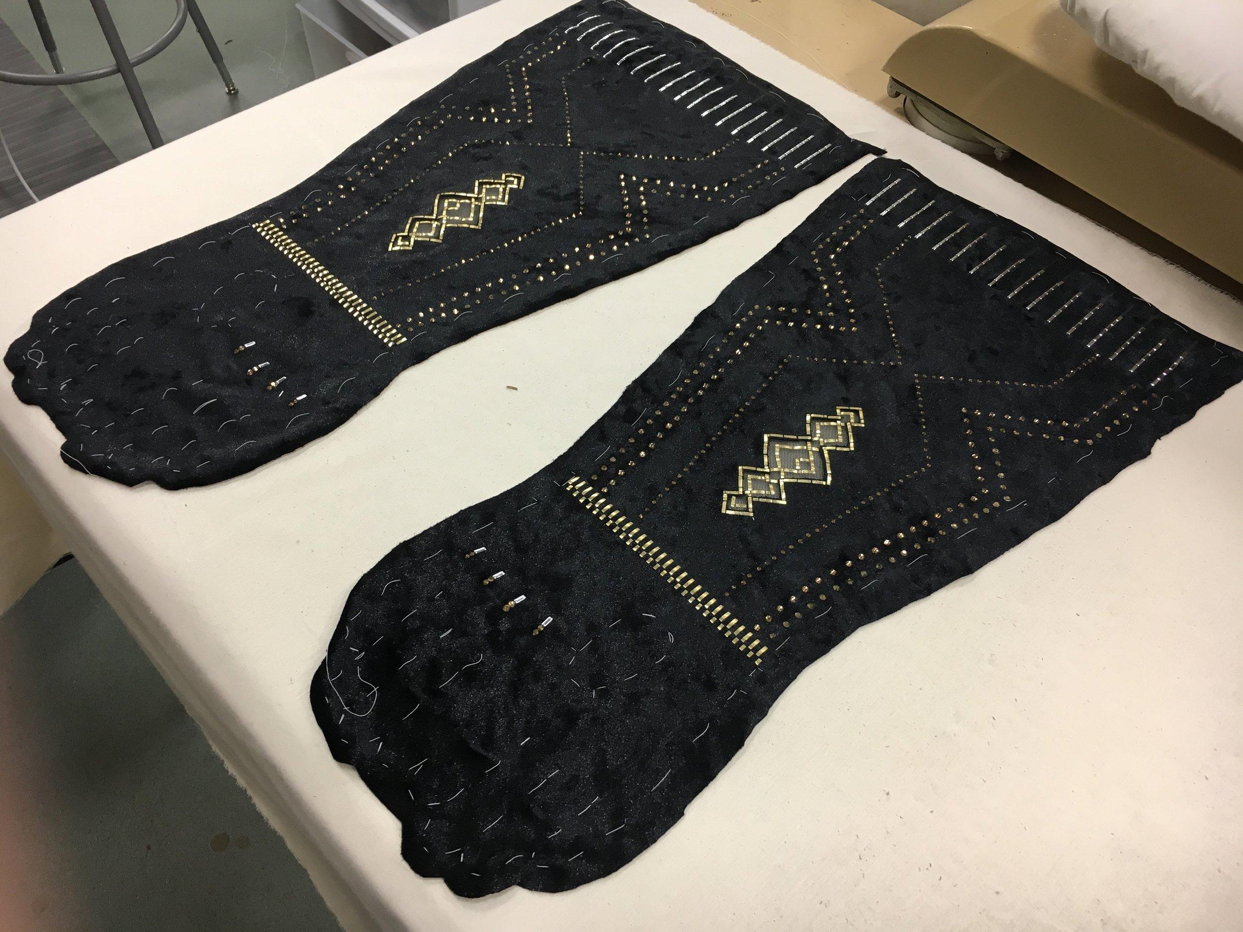 Craftsperson  Glamour Gloves  Designer - Tessa Barlotta