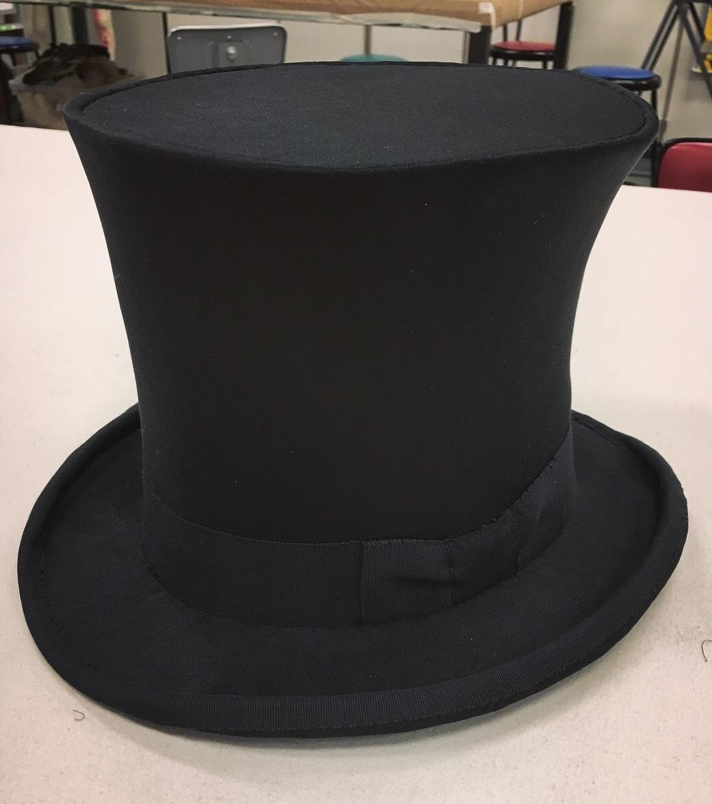 Milliner  Buckram Top Hat  Designer - Tessa Barlotta