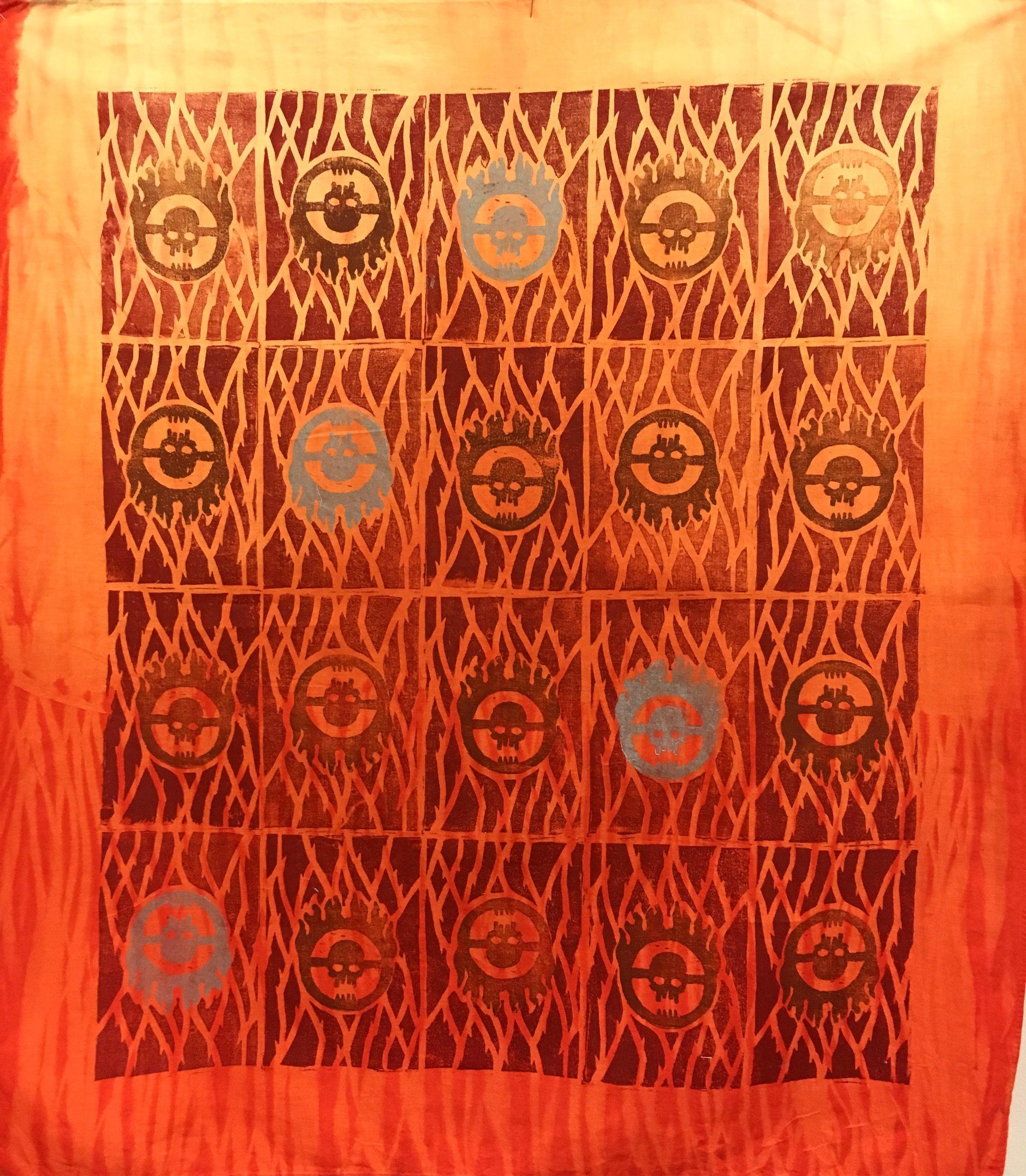 Dyer/Painter  Block Printing, Shibori, & Ombre  Designer - Tessa Barlotta