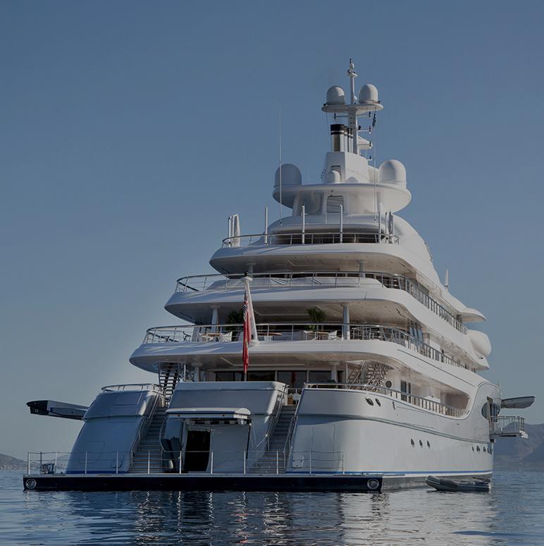 Luxury Yachts -