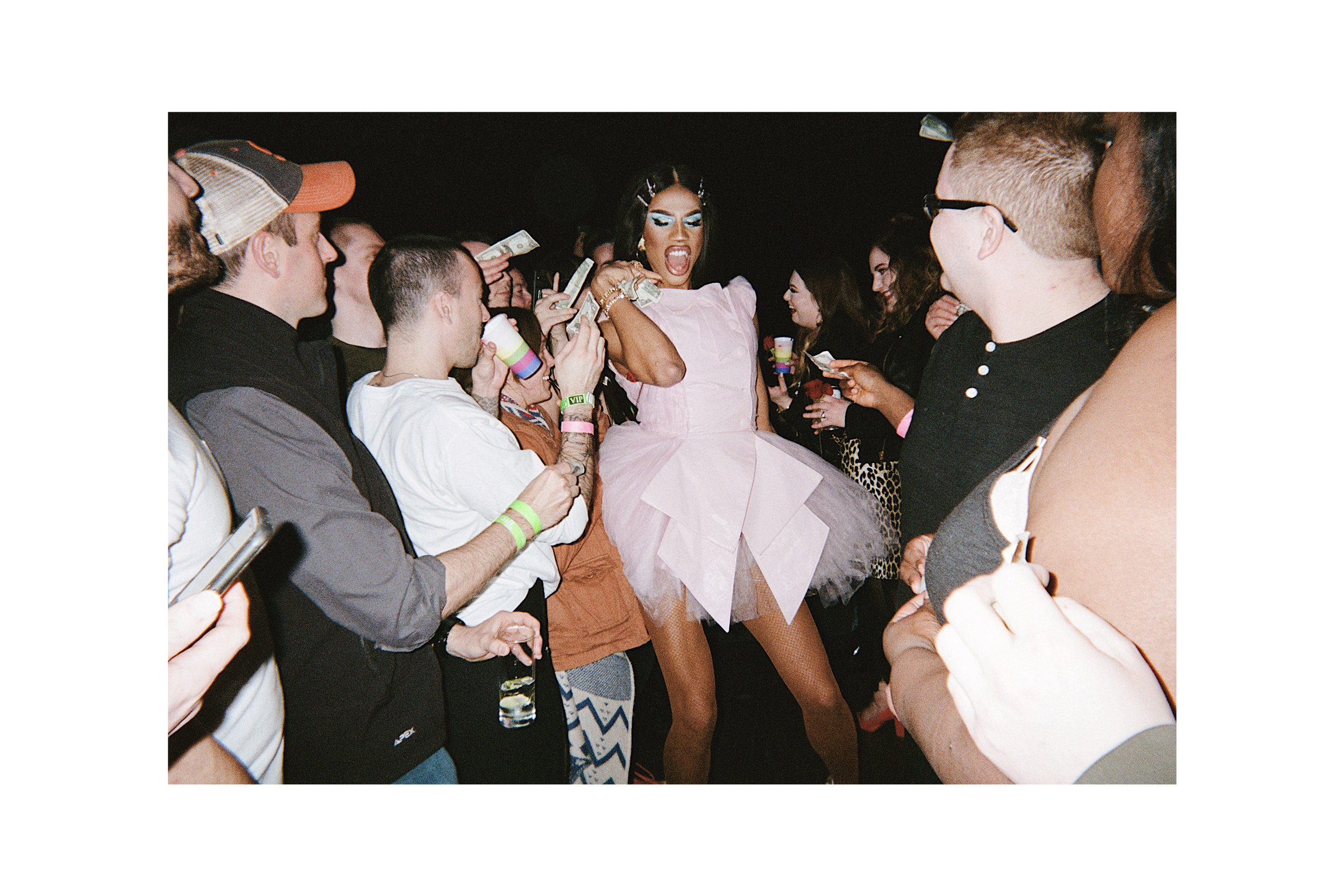 Naomi Smalls at The Saloon in Minneapolis. March, 2019.