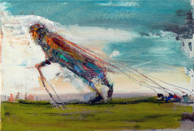 Matt Blackwell,  Wayfareres Load,  2013, Oil on canvas, 8h x 12w in.