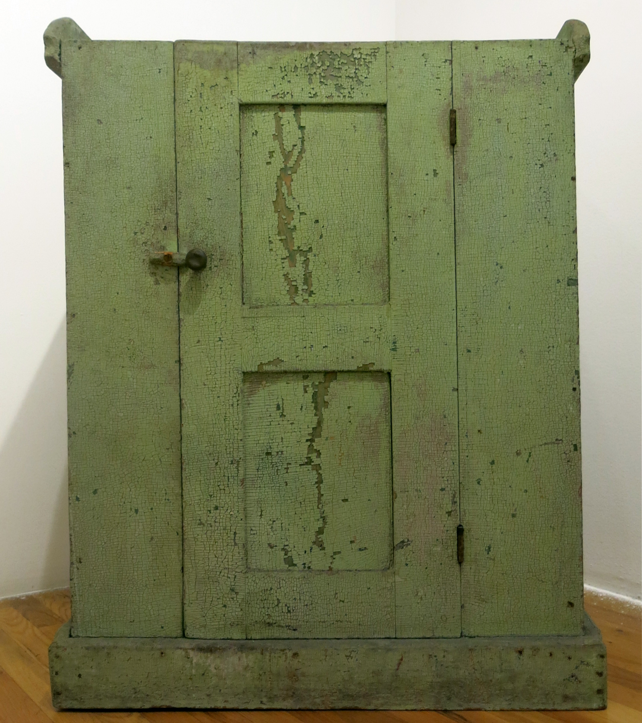 American Anonymous, Dry Sink , Early 20th c., Painted wood, 40h x 32w x 18 1/2d in.