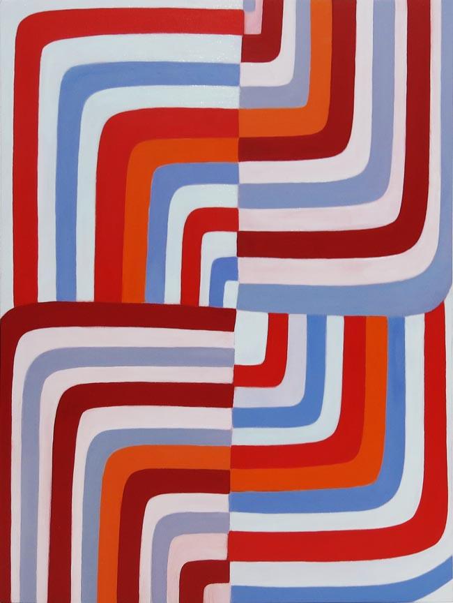 Jenifer Kobylarz, Again, 2016, Oil on wood panel, 16h x 12w in.