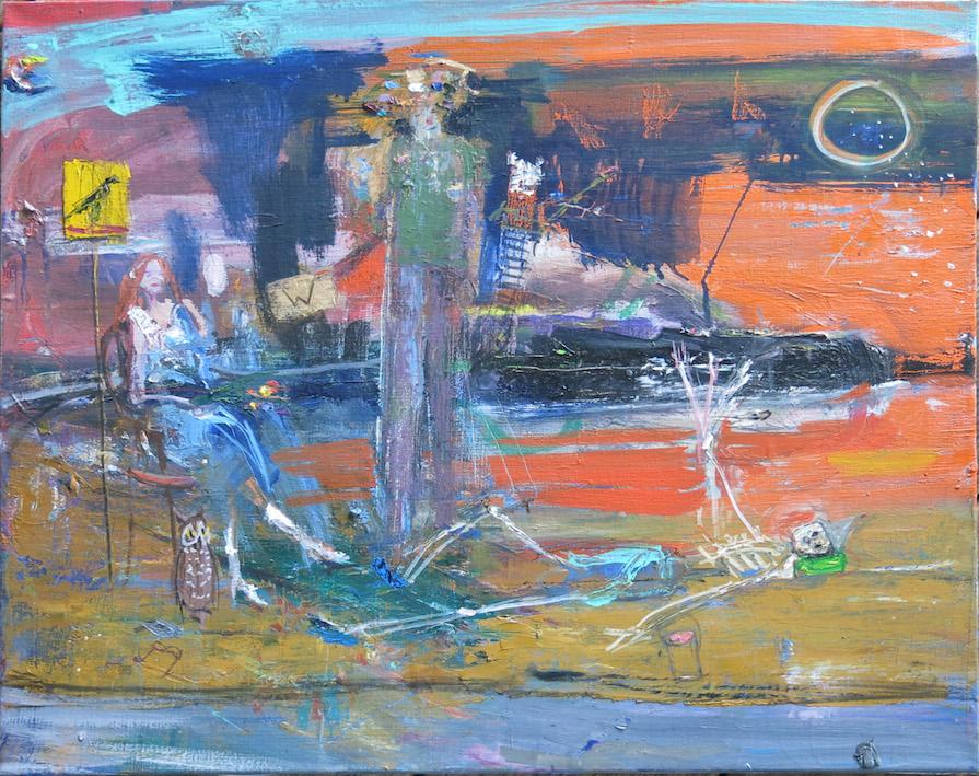 Matt Blackwell, 1975, 2015, oil on canvas, 21h x 24w in.