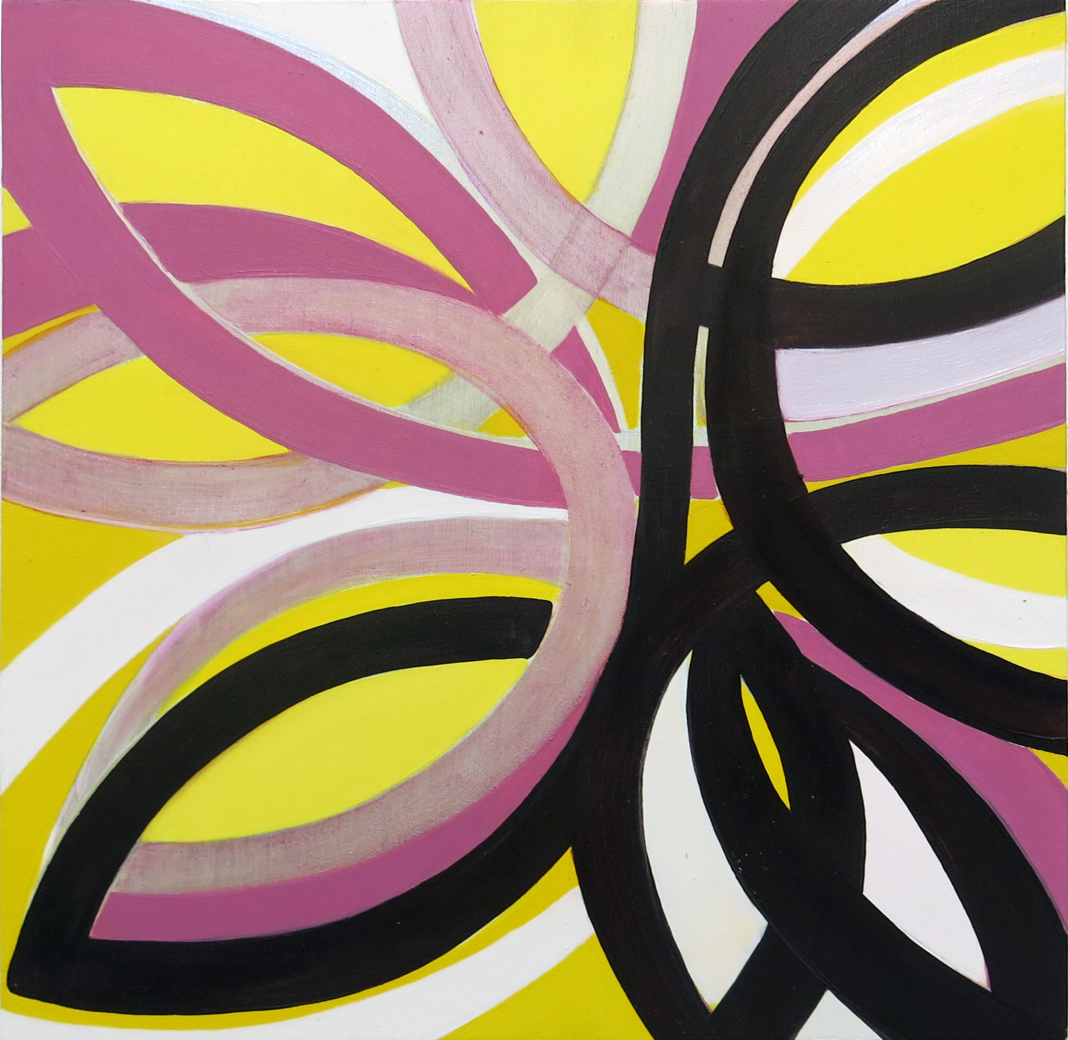 Jenifer Kobylarz, Maybe, 2014, oil on panel, 12h x 12w in.
